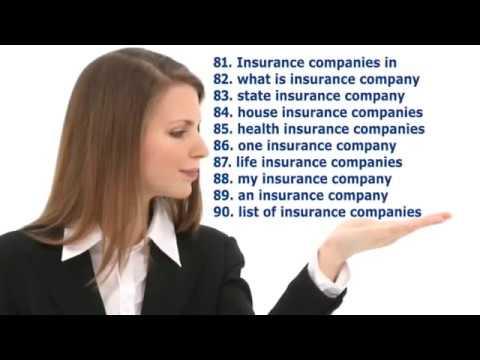 SEO Keywords for Auto Insurance Company Cheap Car Insurance Website