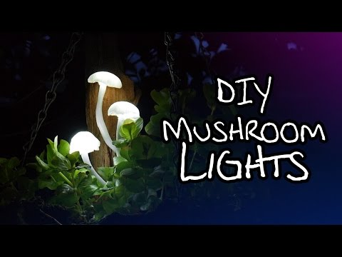 Make Your Own Magical Mushroom Lights
