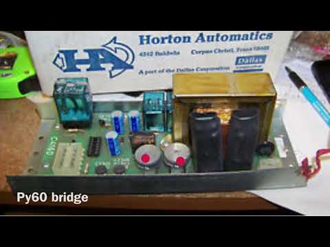 HORTON c4160 Control Repair service