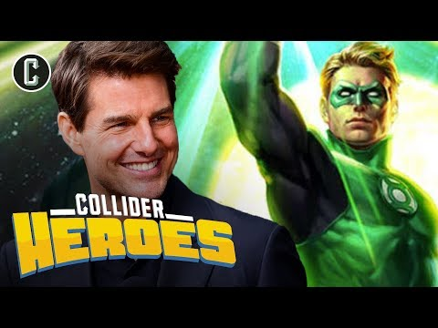 Is Tom Cruise the Right Choice for Green Lantern?  Heroes