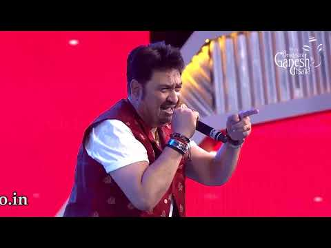 """Dheere Dheere Se"" from the movie Aashiqui by Kumar Sanu at 55th Bengaluru Ganesh Utsava"