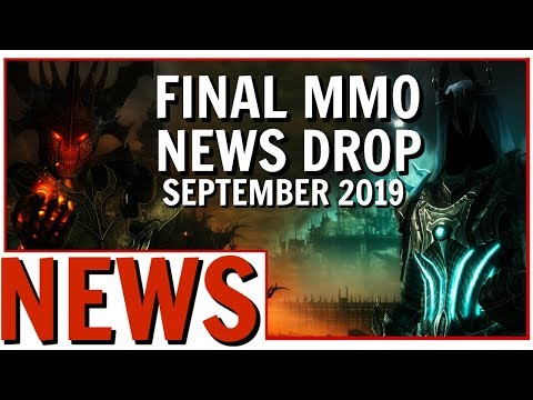 Final MMO News Drop September 2019: Expansions, Teasers, Content and Delays!
