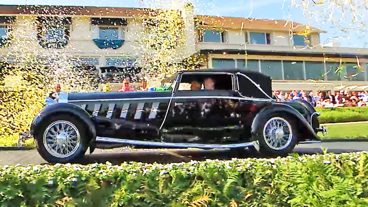 Concours D Elegance >> 2016 Pebble Beach Concours D Elegance Live August 2st At 2pm Pdt On The Motor Trend Channel