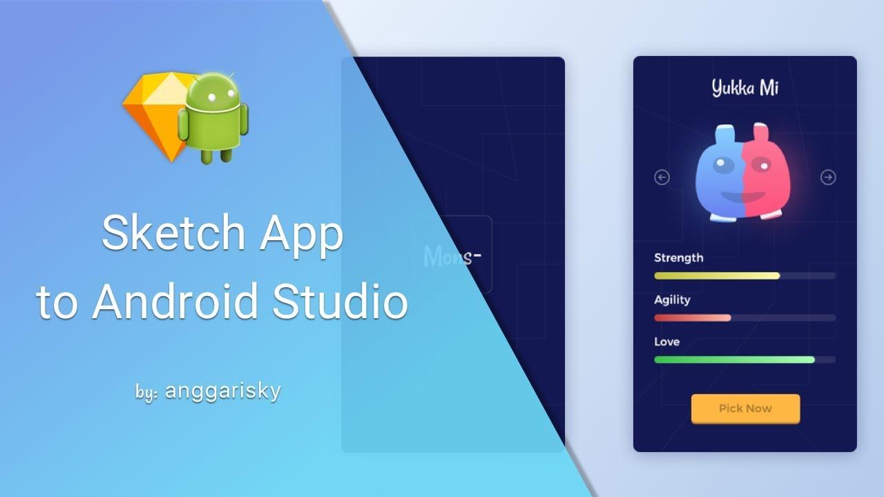 Game Mobile UI Design in Android Studio Tutorial - YouTube