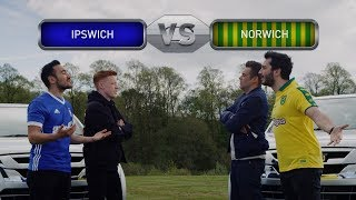 Ipswich Town vs Norwich City | Driving Derby