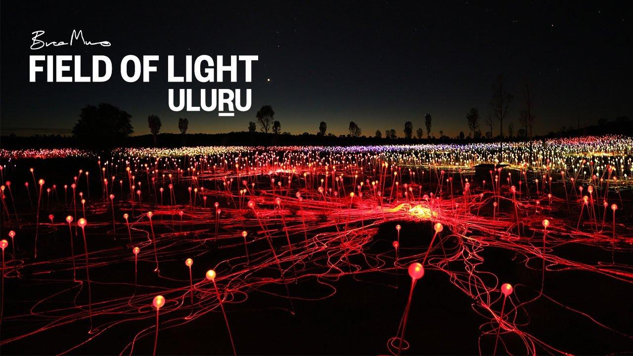 Field Of Light Uluru At Ayers Rock Resort Idea