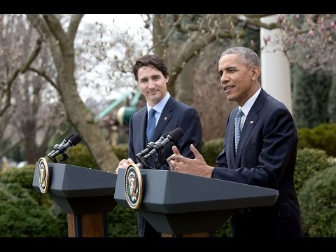 President Obama and Prime Minister Trudeau Hold a Joint Pres