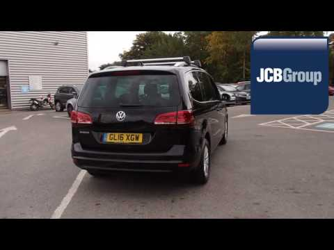 GL16XGW Volkswagen Sharan 2.0 TDI SCR SE NAV BMT (184 PS) DSG 2l JCB VW MEDWAY