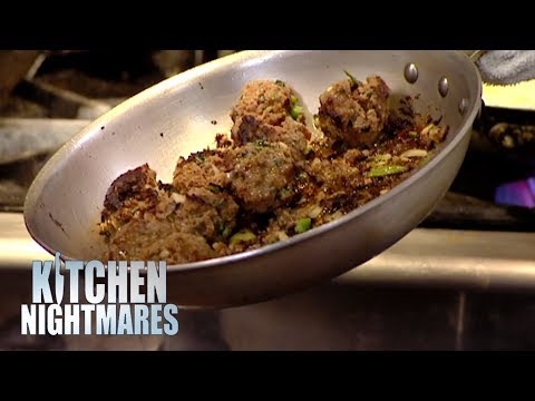 Gordon Astonished By Head Chef Who Can't Cook Meatballs | Kitchen Nightmares