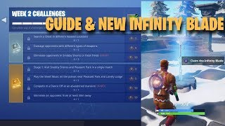 All Season 7 Week 2 Challenges Guide | Piano locations | Giveaway (Fortnite Battle Royale)