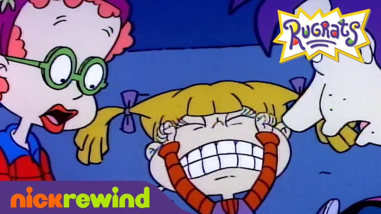 Angelica Pickles Fakes a Broken Leg | Rugrats | NickRewind