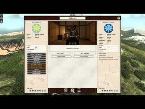 Let's Play Shogun 2: Rise of the Samurai Kiso Minamoto - Part 1 |