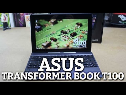 TEST Asus Transformer Book T100