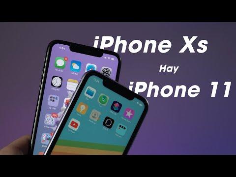 Đọ Kèo Cực Gắt IPhone Xs Và IPhone 11- IPhone Xs Rẻ Hơn Có đáng Mua Hơn?