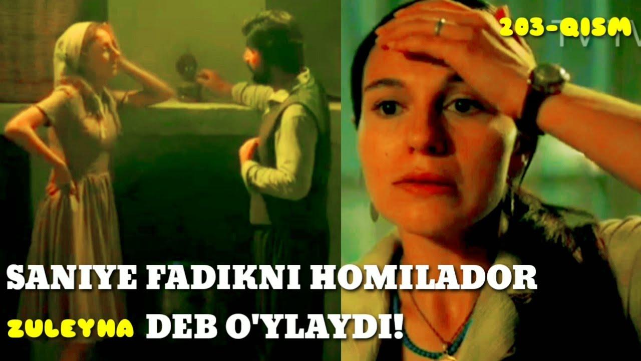 ZULEYHA 203 - QISM O'ZBEK TILIDA(TURK SERIALI) # ЗУЛЕЙХА 203 - КИСМ УЗБЕК ТИЛИДА (ТУРК СЕРИАЛИ)