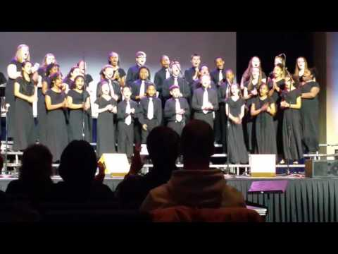East dayton christian school concert choir