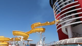 Our Complete Tour Of The Disney Wonder Cruise Ship! | Food Locations, Touring Each Floor & More!