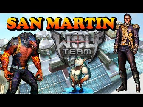 Wolfteam Latino   Jungando Con  San Martin + Wolf Dash