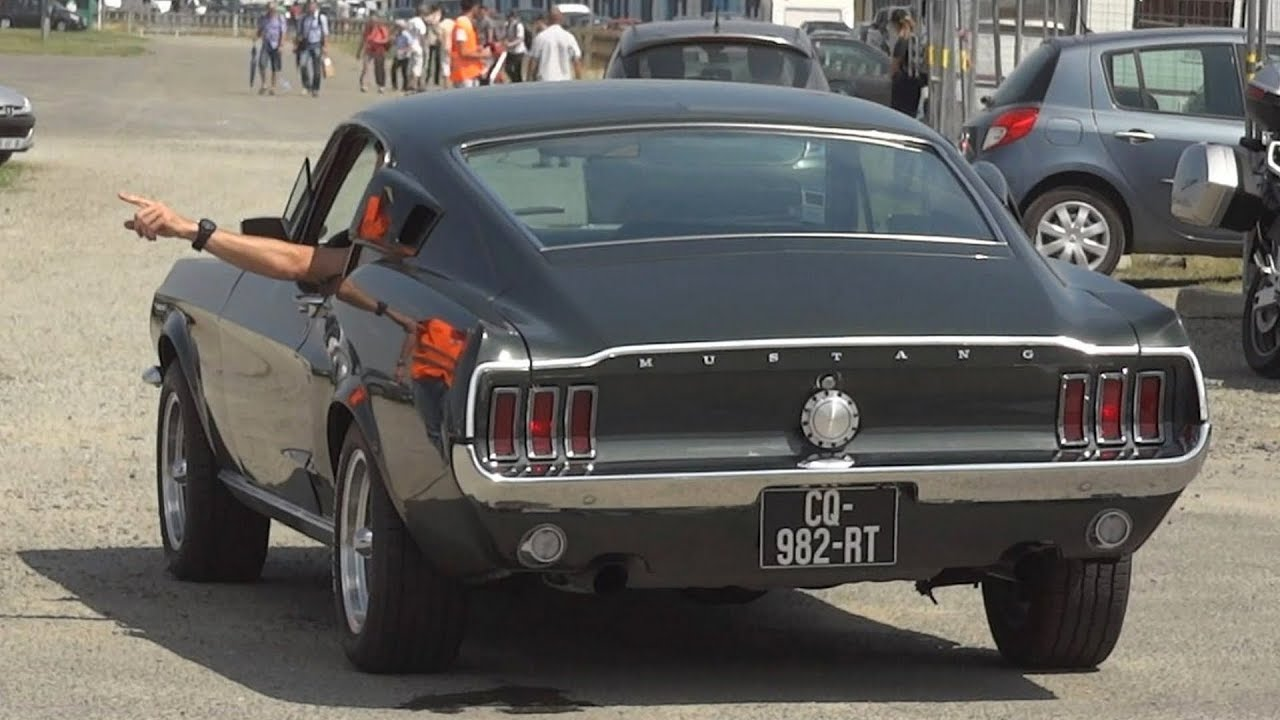 1967 ford mustang fastback sound