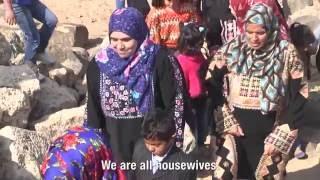 نحت البازلت للتمكين الاقتصادي للمرأة الريفية في أم الجمال بالأردن