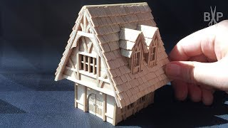 How to make a Miniature Medieval House