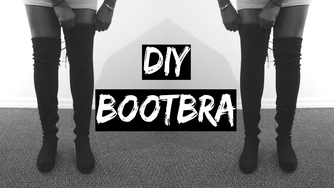 ce8c7fa34b5 DIY  HOW TO KEEP YOUR OVER THE KNEE BOOTS FROM FALLING SLOUCHING ...