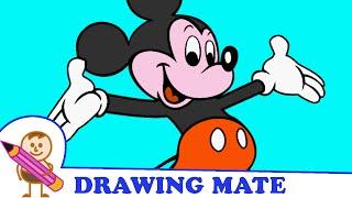 Mickey Mouse Colouring Pages Colouring Sheets ♥ Kolorowanki malowanki Gry dla dzieci Myszka Miki