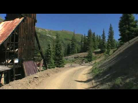 Red Mountain Mining District, San Juan Mountains, Colorado, Ouray, Silverton, Ghost Town