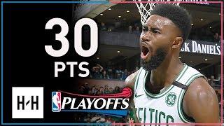 Jaylen Brown Full Game 2 Highlights Celtics vs Bucks 2018 Playoffs - 30 Points, BEAST!