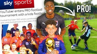 I Entered a Kids Soccer Team Into A CRAZY Football Competition & This Happened