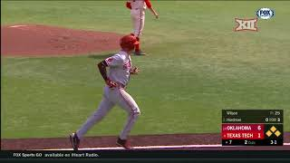 Oklahoma vs Texas Tech Baseball Highlights - Apr. 22