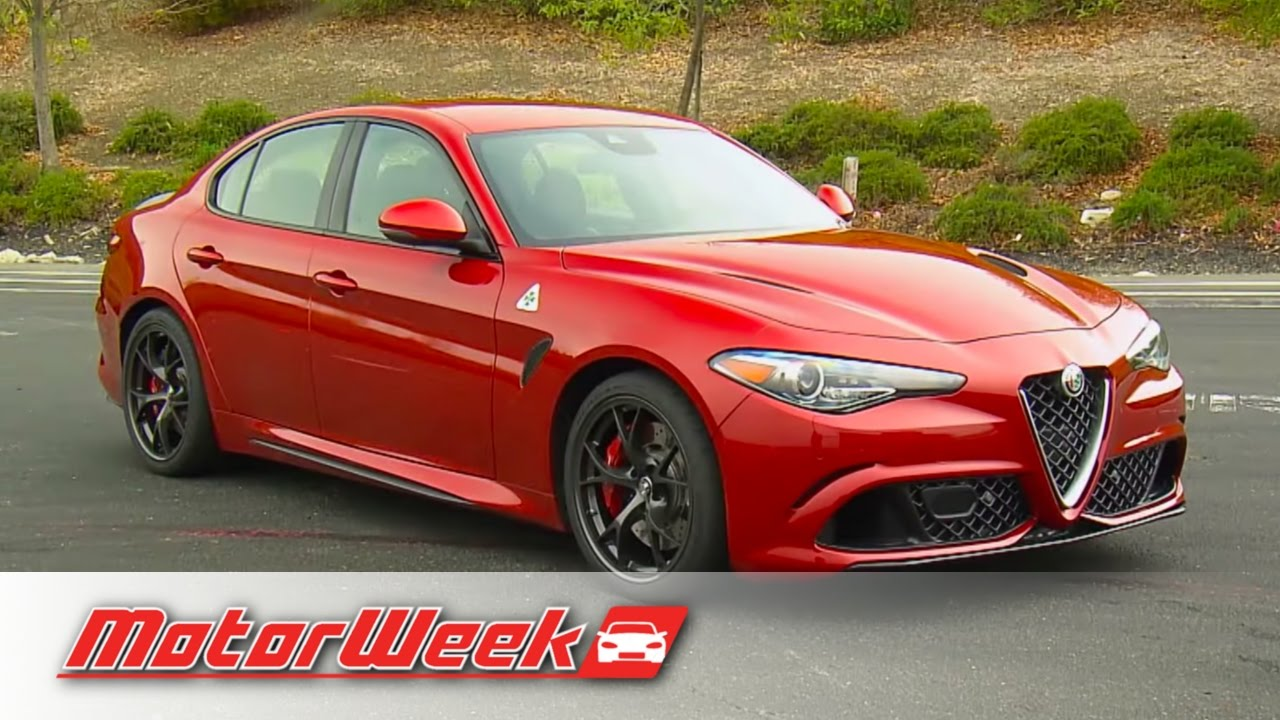 Quick Spin 2017 Alfa Romeo Giulia , Ferrari Power, Without The Price