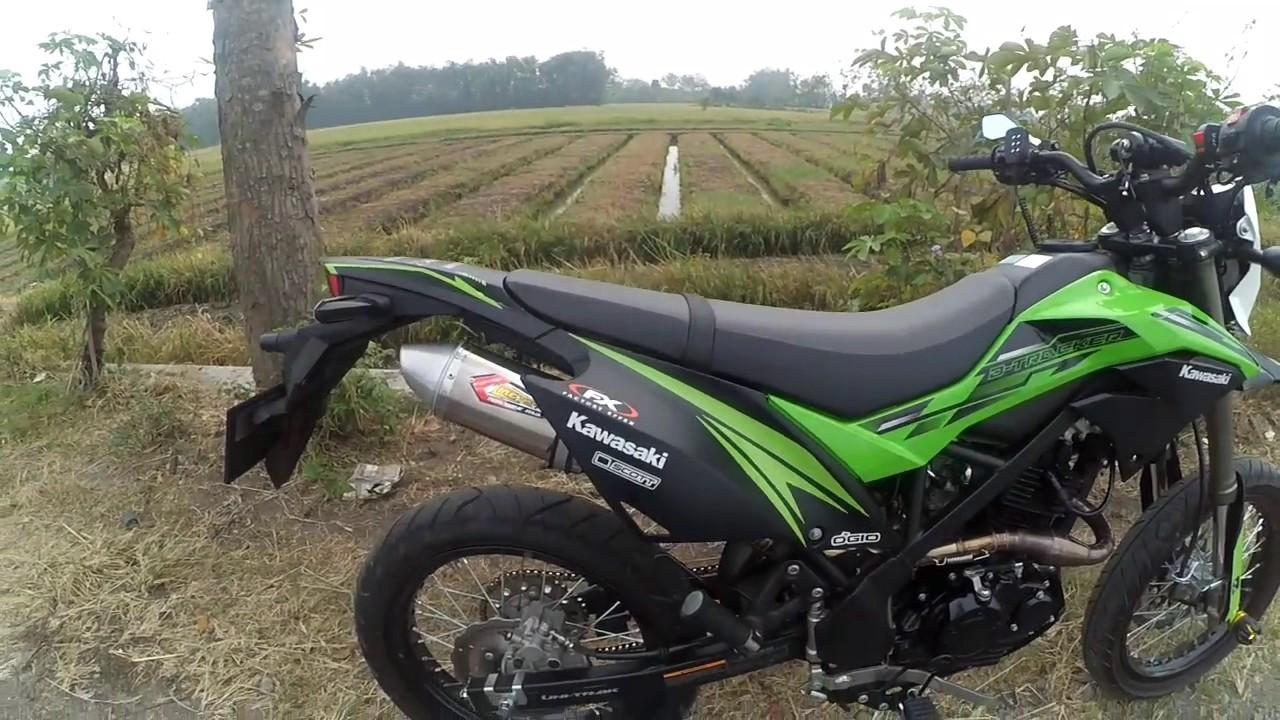 Check Sound Knalpot Racing Creampie Jogja Di Kawasaki Klx D R9 Full System New Mugello 150 All Type Trail Trailnusantara Kreaker