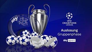 Auslosung der UEFA Champions League - Gruppenphase 2020/21 #UCL