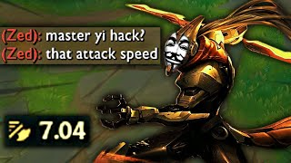 MASTER YI ATTACK-SPEED HACK