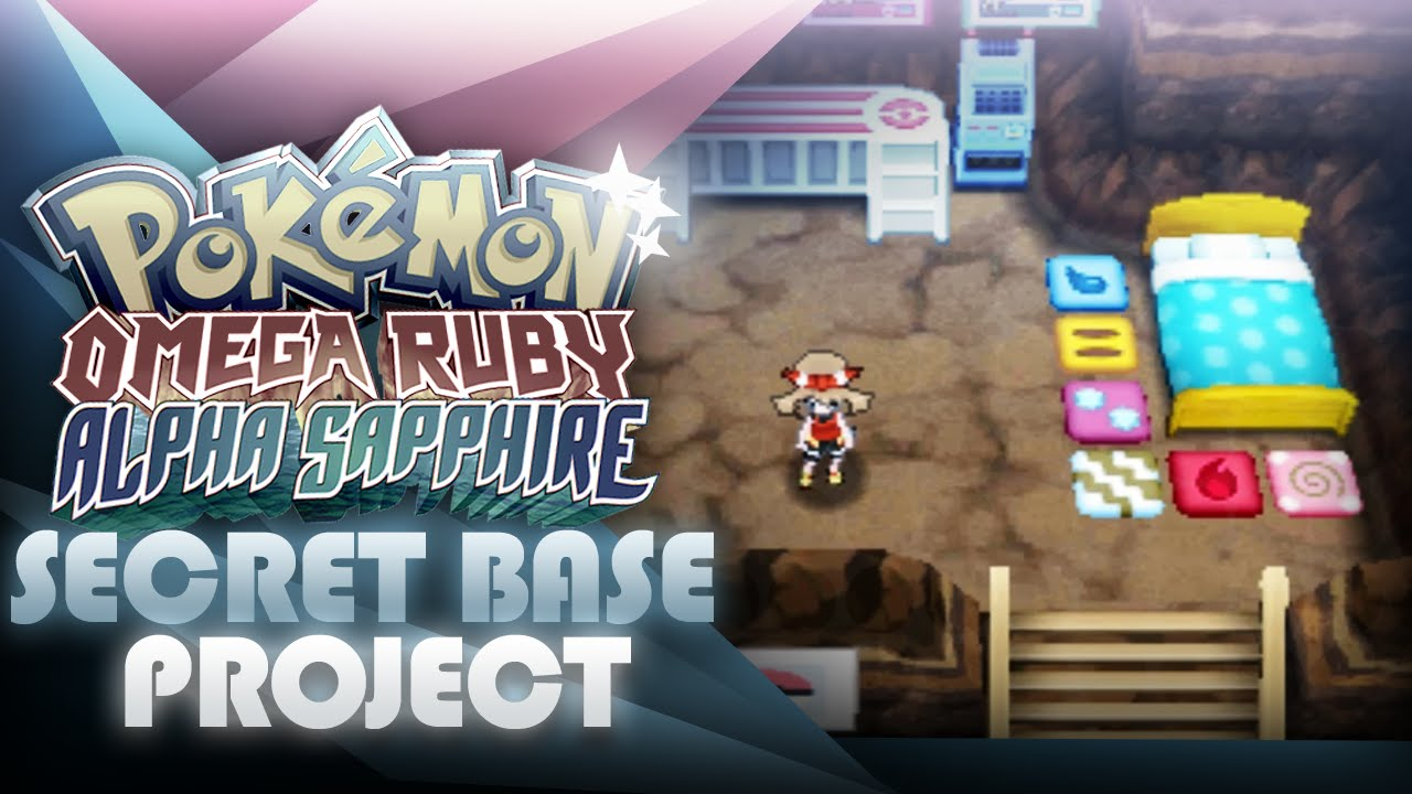 Pokemon Oras Secret Base Project How To Share Your Qr Code
