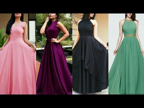 Beautiful evening long gowns designs ll latest design long dress