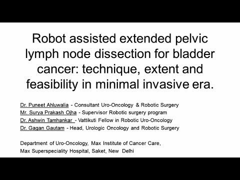 Robot Assisted Extended Pelvic Lymph Node Dissection For Bladder