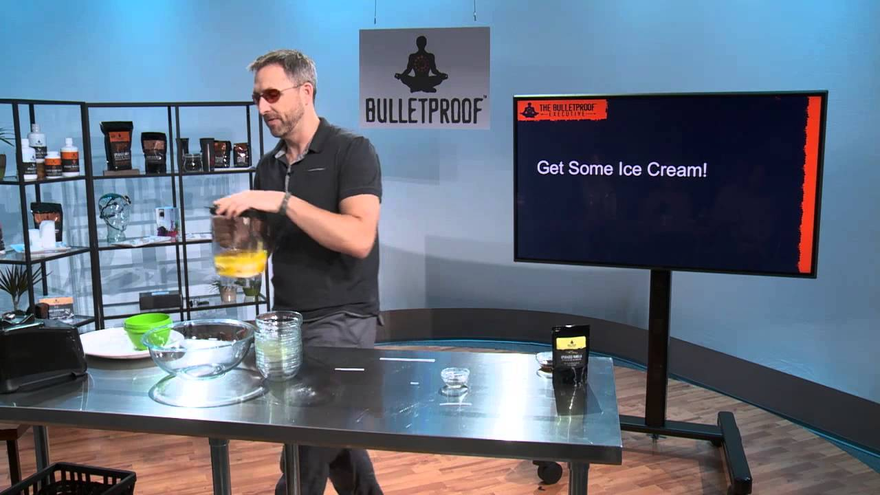 """Download Bulletproof Life """"Get Some"""" Ice Cream Recipe from Dave Asprey"""