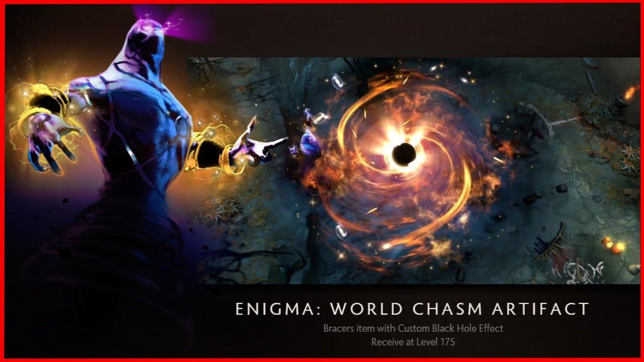 enigma world chasm artifact new ti5 hud dota 2 youtube