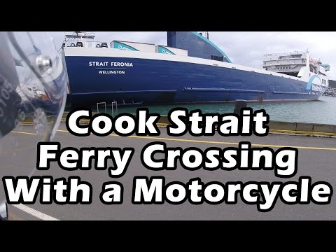 Cook Strait Ferry & Motorcycle Ride to Nelson