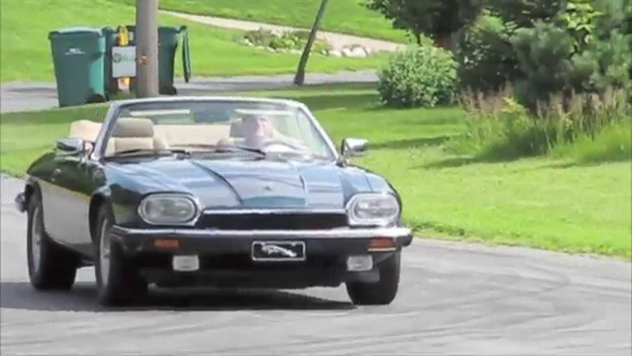 1993 jaguar xjs drive by and test drive