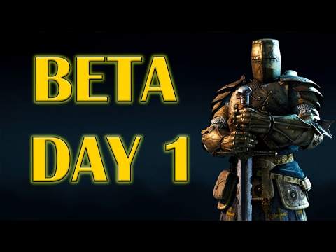 For Honor - Open Beta Day 1 - High level Warden