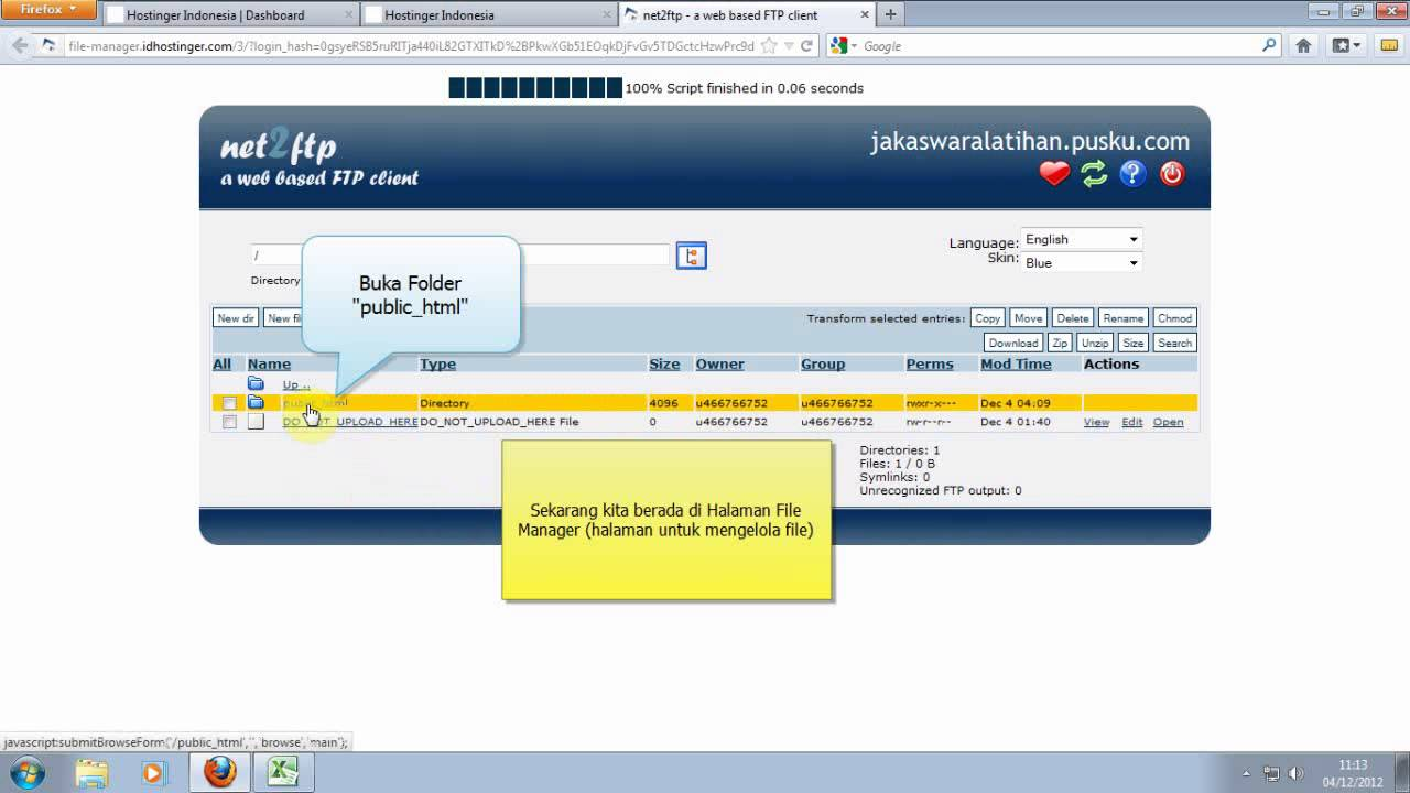 Cara Extract Package Joomla - Versi 2 - (Part 8a - Membuat Website ...