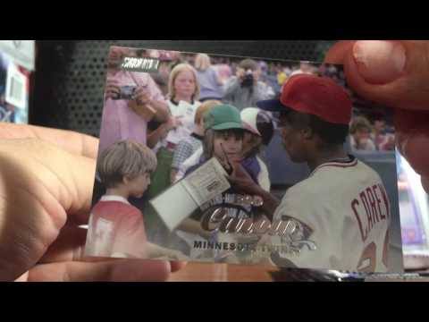 2017 Topps Stadium Club Blaster Box Break review