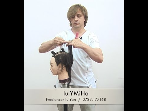 Tunsoare optima de salon / Curs tunsori online IulYMiHa
