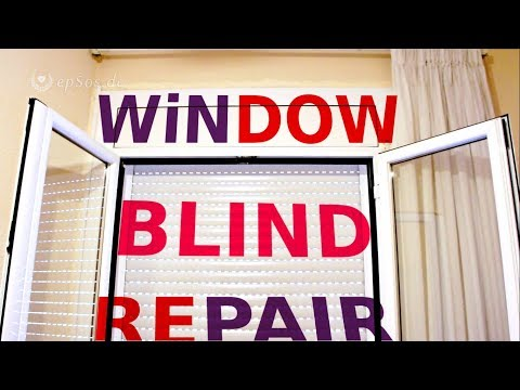 Repair of the Window Blinds and Shutters.