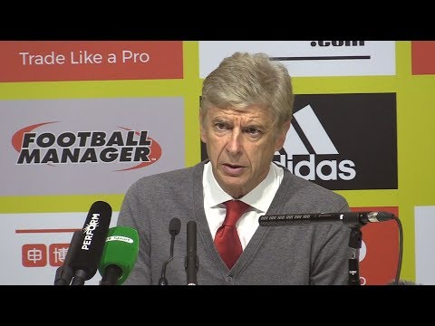 Watford 2-1 Arsenal - Arsene Wenger Full Post Match Press Conference - Premier League