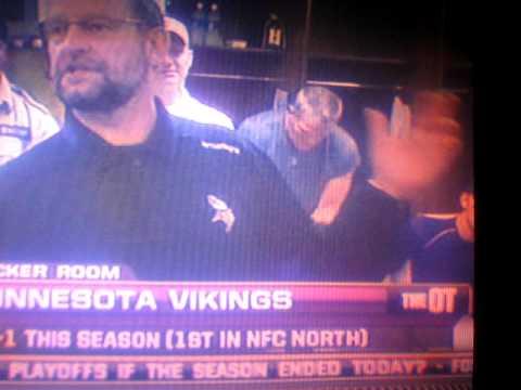 Brett Favre Pulls Pants Down On Live Tv Vikings Locker Room Youtube
