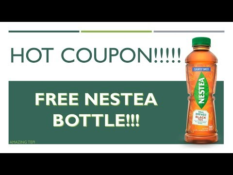 FREE NESTEA COUPON!!! + I GOT A P.O. BOX!!!